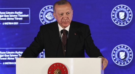 Cumhurbaşkanı Erdoğan: Amasra -1 kuyusunda doğal gaz keşfi