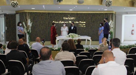 Düğün salonlarında yüzde yüz doluluk