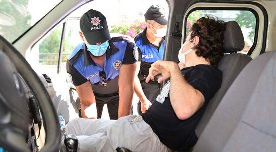 Engelli şehit çocuğunu sınava polisler götürdü