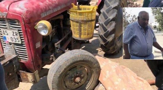 Feci olay! Traktörün üzerinde kalp krizi geçiren adam hayatını kaybetti