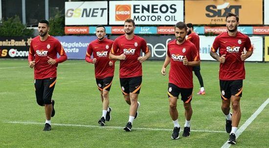 Galatasaray sezonu çift antrenmanla açtı