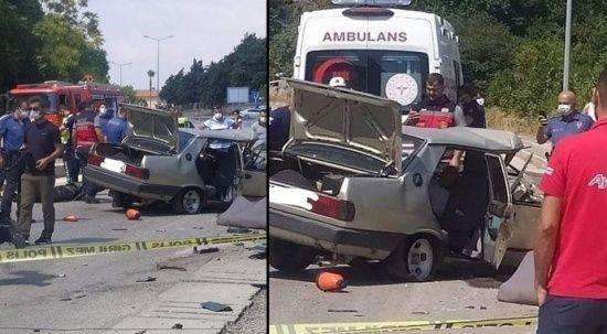 Hatay'da feci kaza: Ölü ve yaralılar var