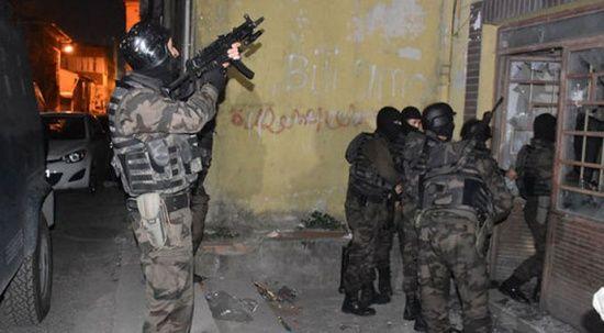 İstanbul'da terör örgütü PKK'ya operasyon: 5 gözaltı