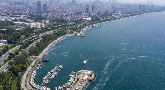 İstanbul'un bazı sahillerinde müsilaj yoğunluğu azaldı