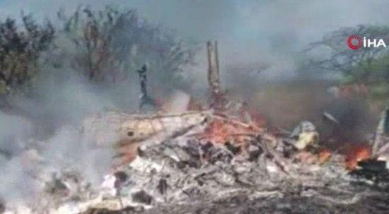 Kenya'da askeri helikopter düştü: 17 ölü