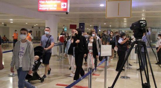 Kısıtlama kalktı, Rus turist akını başladı