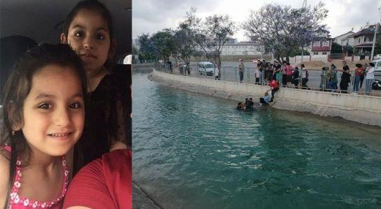Mersin'de sulama kanalına düşen kız kardeşlerden biri öldü
