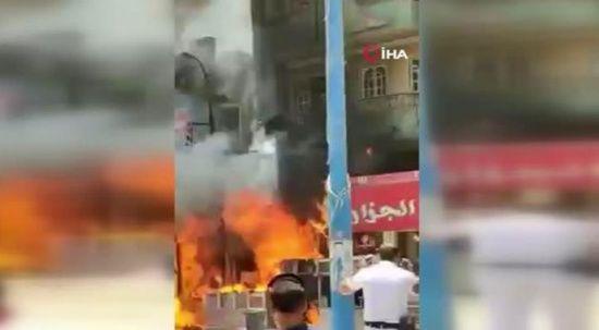 Mısır'da tüp bomba gibi patladı! 17 yaralı