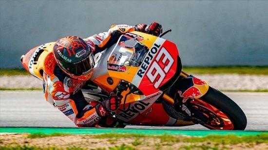 MotoGP Almanya Grand Prix'sinde kazanan Marc Marquez oldu