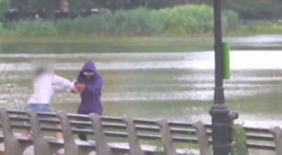 New York Central Park'ta güpegündüz soygun