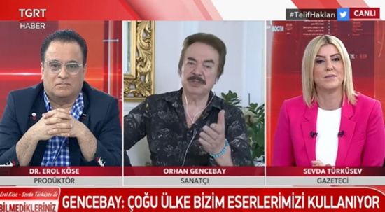 Orhan Gencebay'dan konser açıklaması