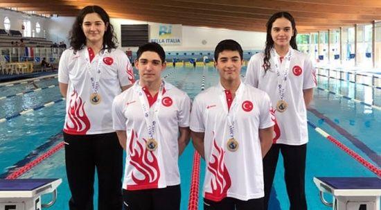 Paletli Yüzme Genç Milli Takımı, dünya şampiyonu oldu