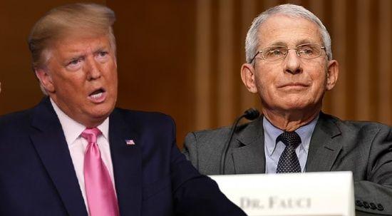 Trump: Dr. Fauci'ye uymayarak yüz binlerce hayat kurtardım