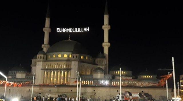 15 Temmuz'un yıldönümünde 90 bin camide sela okundu