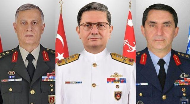 3 kuvvet komutanı YAŞ gündeminde