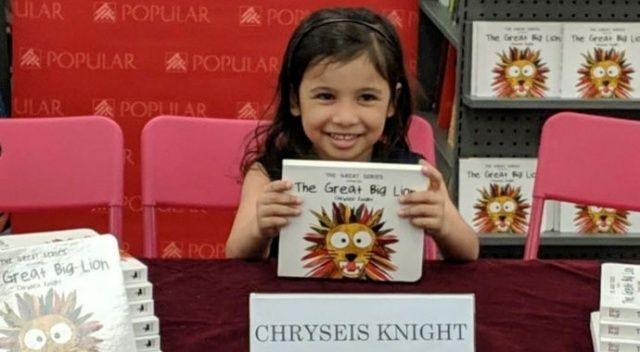 3 yaşındaki kız çocuğu kitap yazdı