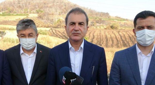 AK Parti Sözcüsü Çelik: Osmaniye'deki yangın kontrol altına alındı
