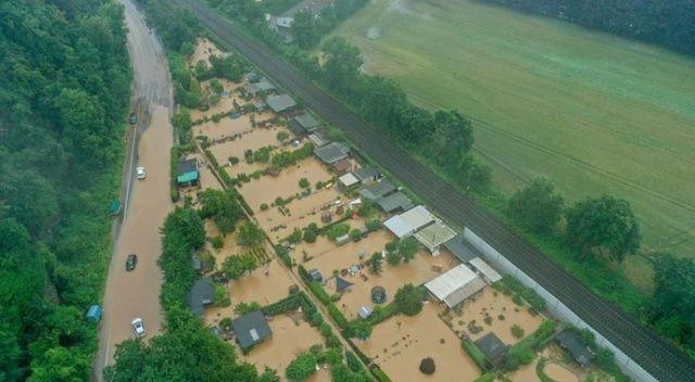 Almanya'yı sel vurdu: Onlarca ölü, binlerce kayıp