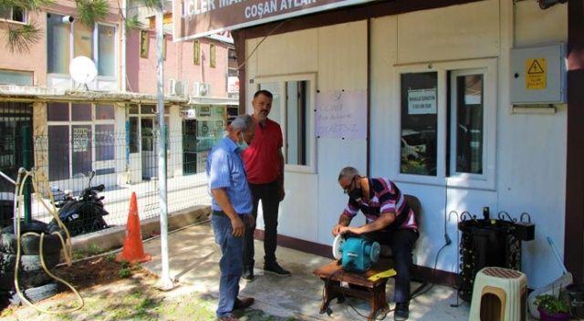 Amasya'da aşı kampanyası: Aşı olana bıçak bileme ücretsiz
