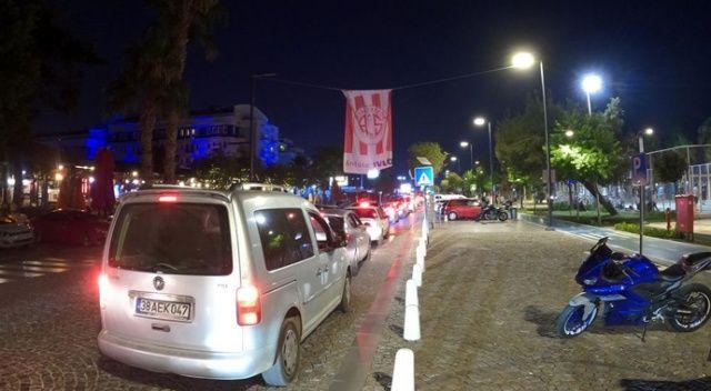 Antalya'da bayram yoğunluğu