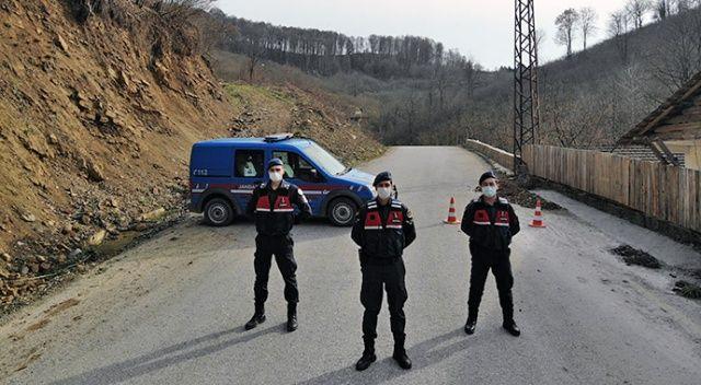 Ardahan'da bir köy 14 günlüğüne karantinaya alındı