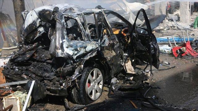 Bab'da bombalı terör saldırısı: 2 yaralı