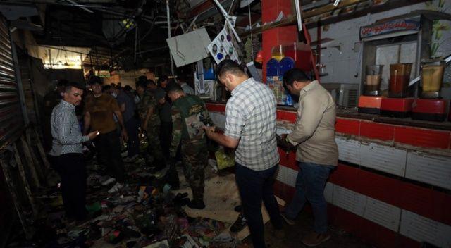 Bağdat'taki halk pazarında patlama: 33 ölü