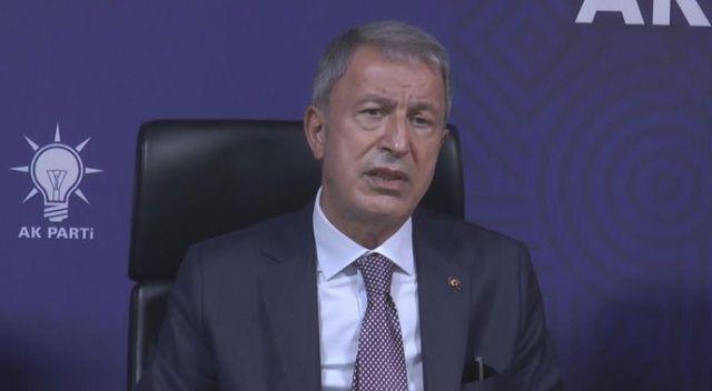 Bakan Akar'dan 'şehit' açıklaması