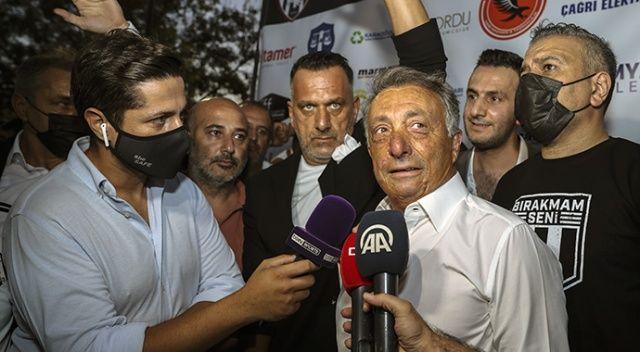 Beşiktaş Başkanı Çebi: Transfer müjdelerimiz olacak