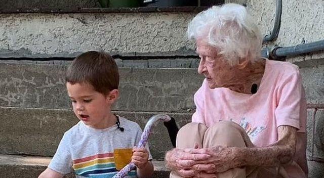 Biri 2, diğeri 99 yaşında! Yedikleri içtikleri ayrı gitmiyor