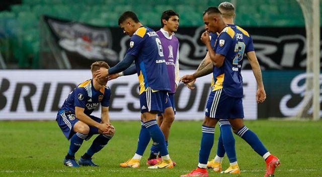 Boca Juniorslı oyuncular polisle çatıştı