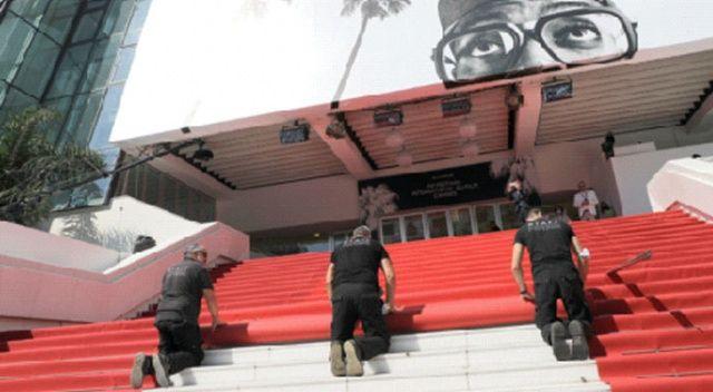 Cannes'in kırmızı halısı küçültüldü
