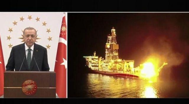 Karadeniz gazında tarihi adım! Erdoğan: Açtığımız kuyular ilk değil, son da olmayacak