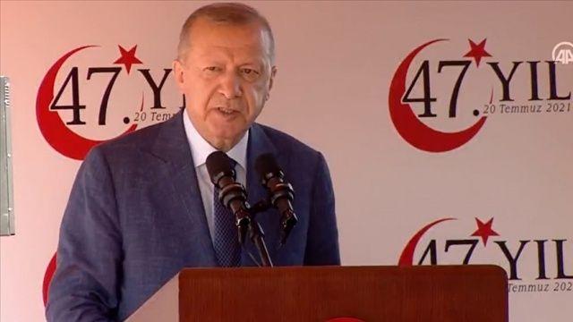 Cumhurbaşkanı Erdoğan: Kimse bizden geriye dönüş beklemesin