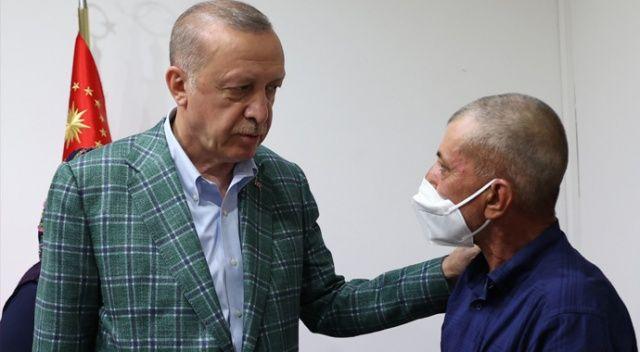 Cumhurbaşkanı Erdoğan: Türkiye yangının izlerini kısa sürede silecektir