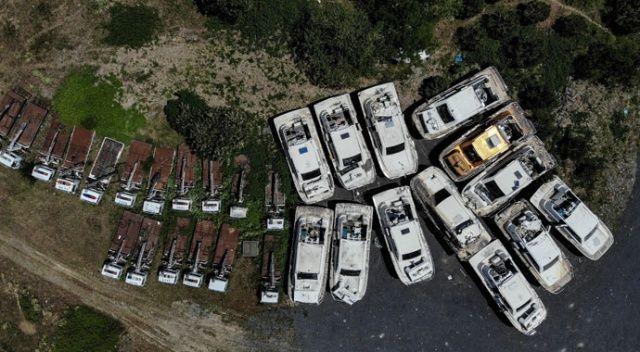 Deniz taksileri çürümeye terk edildi