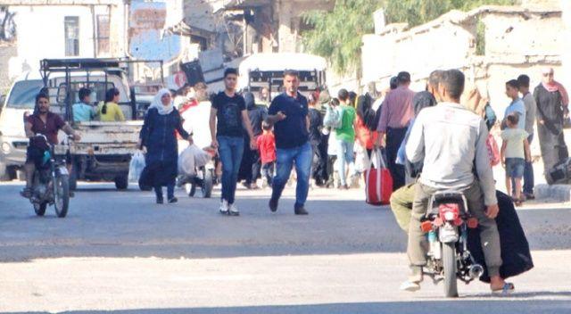 Dera'dan kaçış... Suriye ordusu yeni saldırı başlattı