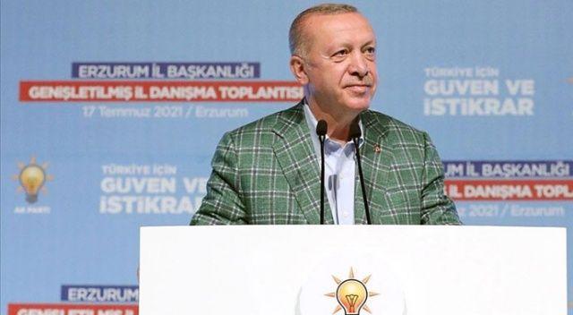 Erdoğan: 9,5 milyar TL'lik eserleri hizmete sunacağız