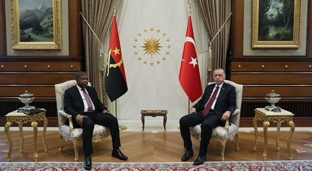 Erdoğan, Angolalı mevkidaşıyla görüştü: Ticaret hacmimiz 500 milyon dolar olacak