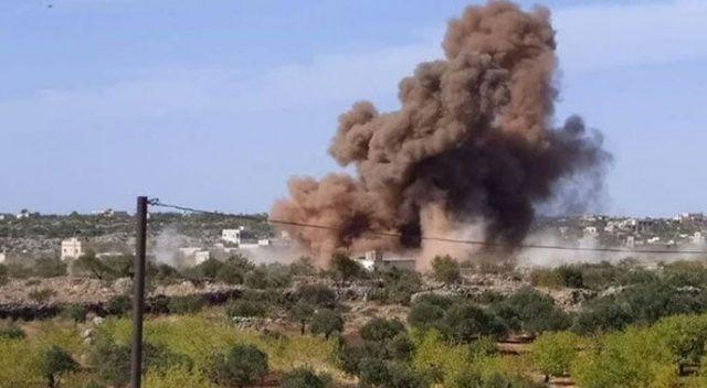 Esad rejimi İdlib'i vurdu: 2'si çocuk 6 ölü