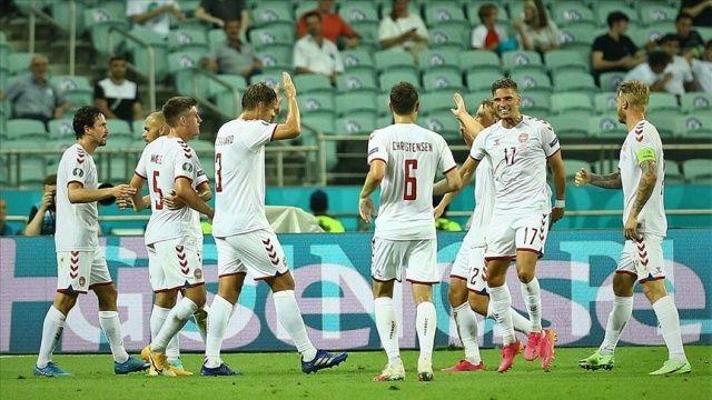 EURO 2020'de Danimarka yarı finalde!