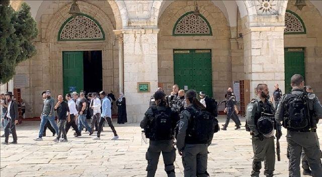 Fanatik Yahudilerin Mescid-i Aksa baskınları devam ediyor