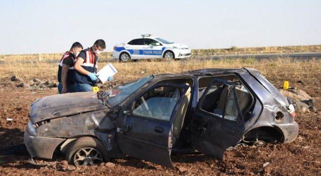 Feci kaza! Otomobil şarampole yuvarlandı: 2 ölü