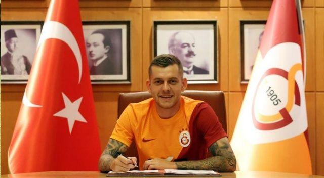 Galatasaray'da Cicaldau imzayı attı