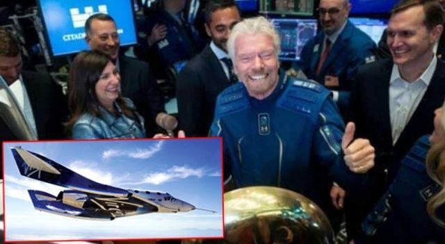 İngiliz iş adamı araçla uzaya seyahat etti
