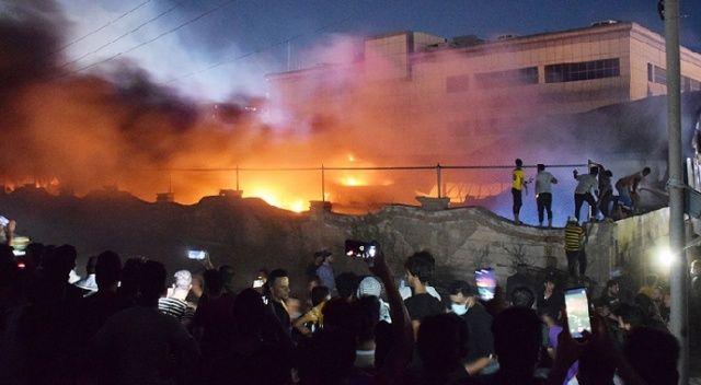 Irak'taki Kovid-19 hastanesinde çıkan yangında ölü sayısı 92'ye yükseldi