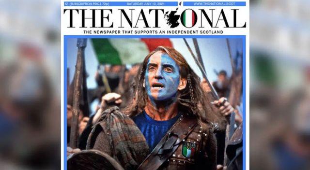 İskoç gazetesinden İtalya'ya destek: Kurtar bizi Roberto