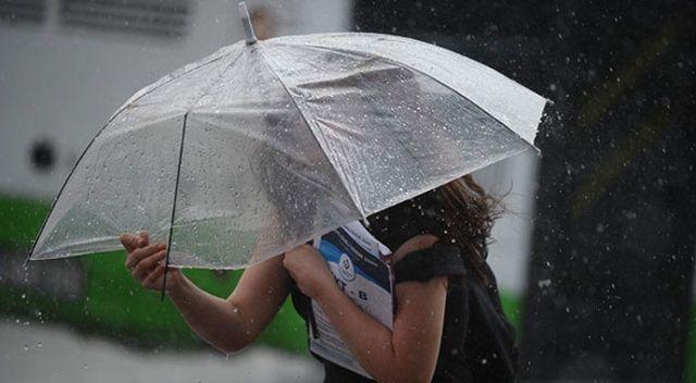 İstanbul ve Karadeniz'e kuvvetli yağış uyarısı