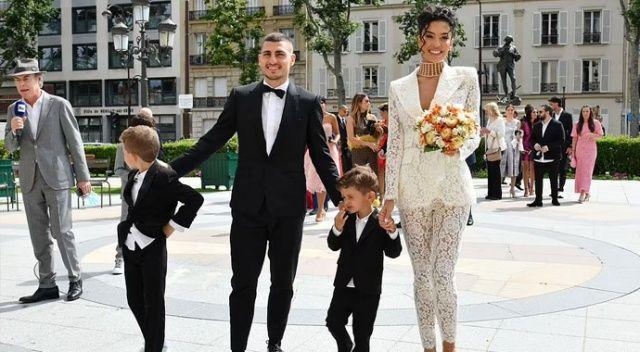 İtalyan futbolcu Verratti, manken Jessica Aidi ile evlendi