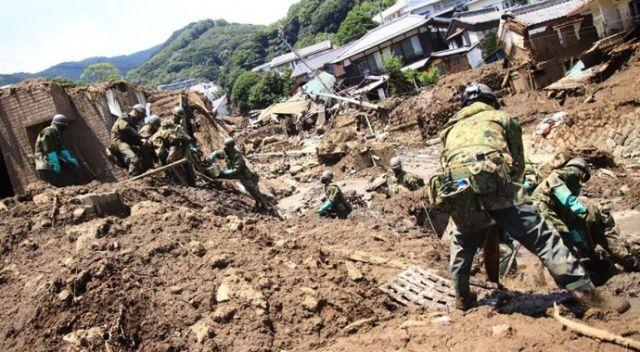 Japonya'da sel ve heyelanda ölenlerin sayısı 13'e yükseldi
